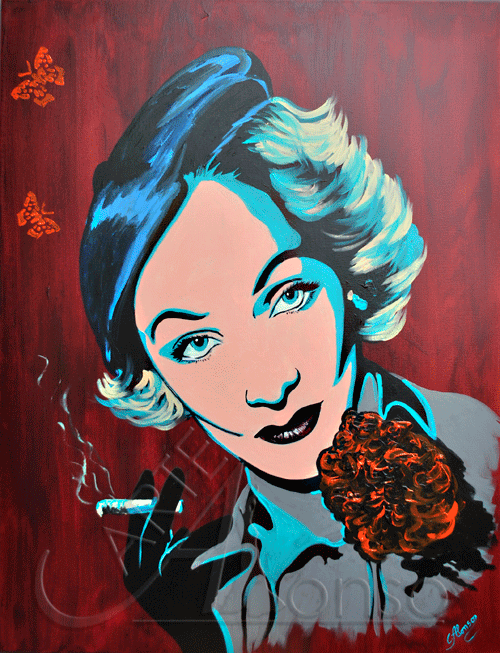 Marlene (2012), 100 x 80 cm