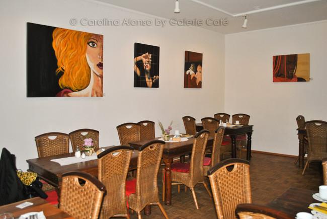 Galerie Café Berg.-Gladbach, August 2014
