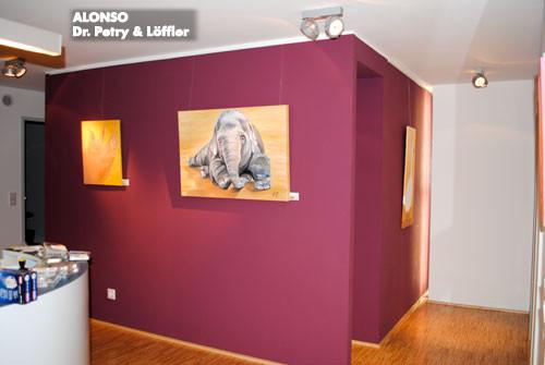 "8. kunst im carreé Sülz-klettenberg 2010,""einfach tierisch"",   Dr. med. Claus Petry & Löffler, Nov.2010"