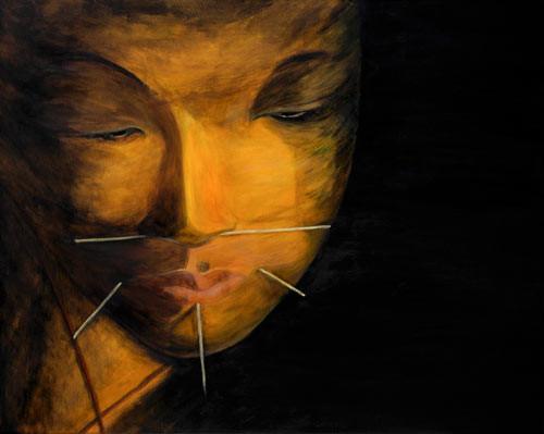Trance (2008)  80 x 100 cm