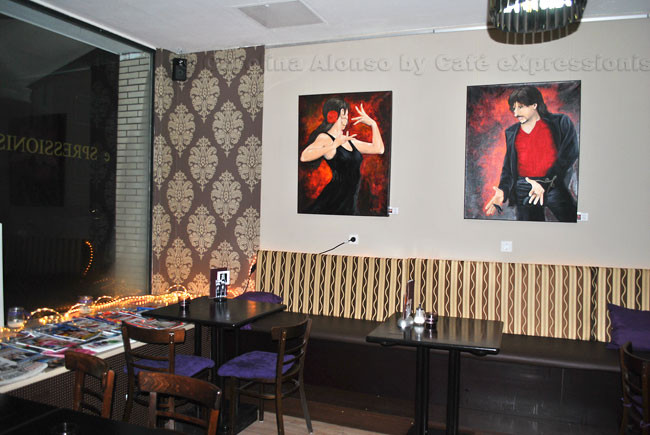 Café eXspressionist, Jan. 2013, KÖLN