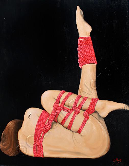 Kunststück (2017), Öl & Acryl auf Leinwand, 100 x 80 x 8 cm
