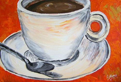 El Café, 30 x 40 cm