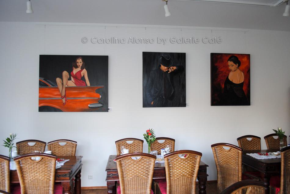 Galerie Café, Januar 2015