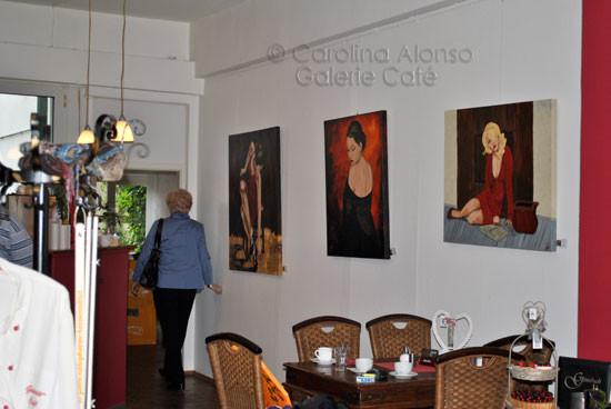 "Galerie Café,51465 BERGISCH GLADBACH,""Herzige-Personen"",   Mai 2011"