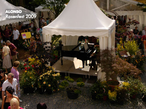 ROSENFEST im Schloss Eulenbroich - RÖSRATH - 2009