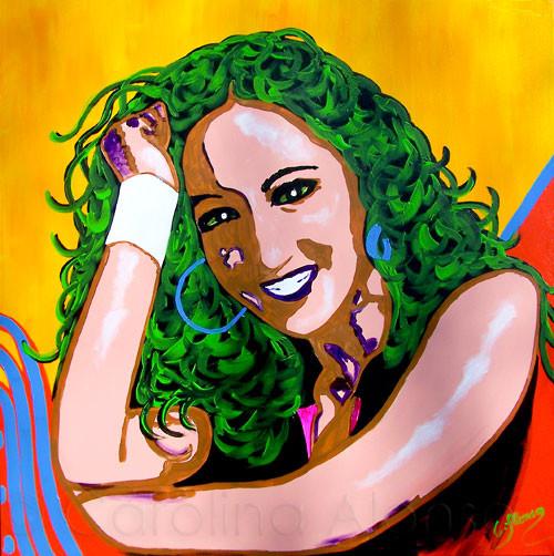 Carmen Carmen IV (2010), 100 x 100 cm (2010), 100 x 100 cm