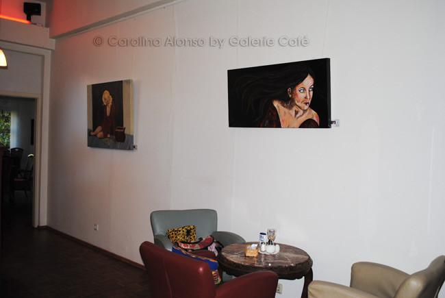 Galerie Café, Bergisch Gladbach, Sept. 2013