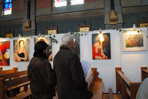 Kunstweekend Hengstdijk, Catharinakerk,4585 AJ   Hengstdijk (NL), Nov. 2010