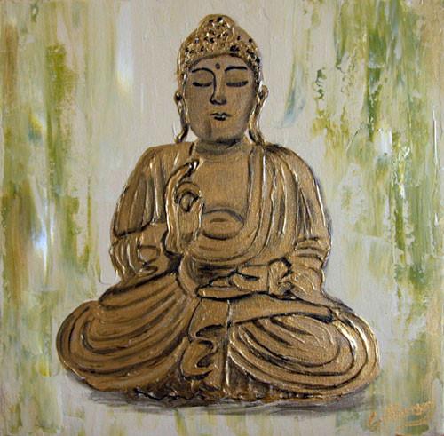 Buddha Gold (2008) 30 x 30 cm