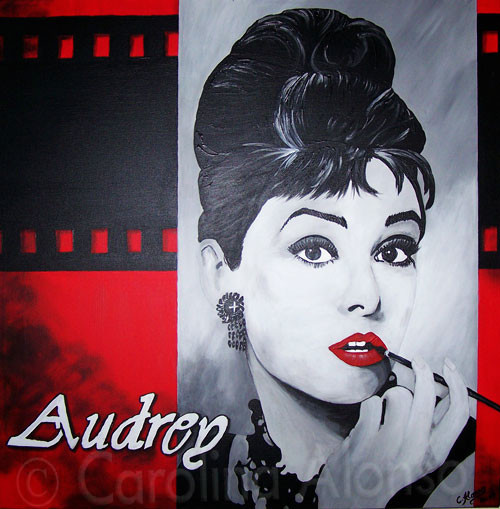 Adrey  (2007) 80 x 80 cm