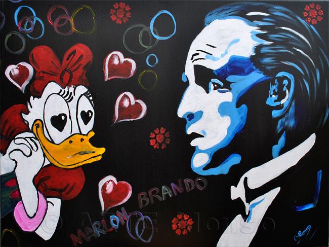 Love Marlon (2011), 60 x 80 cm