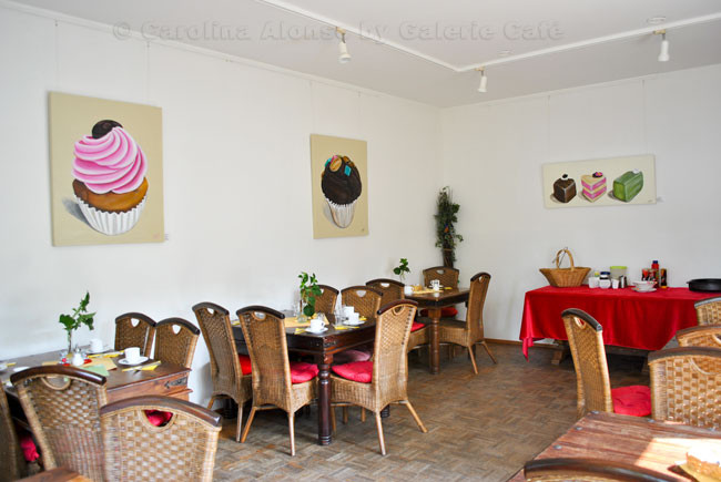 "Galerie Café ""Engelszeit"",  51465 BERGISCH GLADBACH  , Mai 2012"