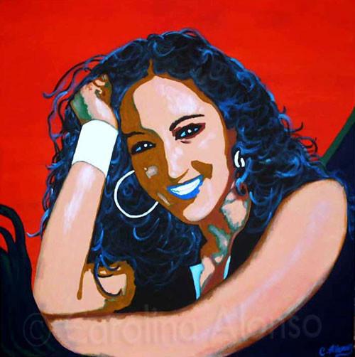 Carmen (2007) 80 x 80 cm