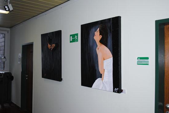 """Rathaus KÜRTEN,""""Sinnliche Kunst"""",51515 KÜRTEN, Jan.2011"""