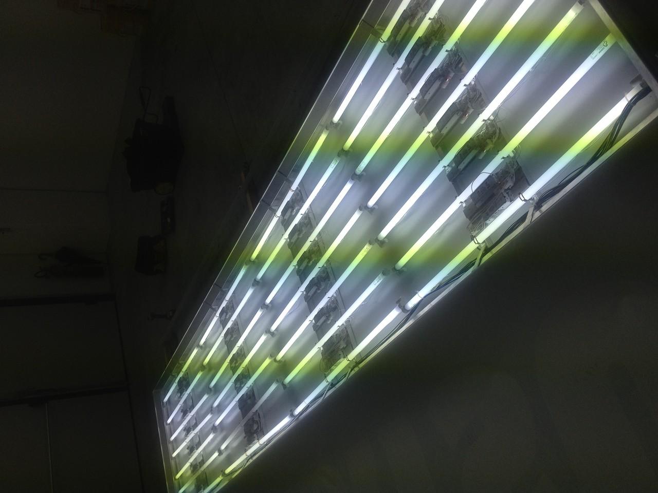 Ripristino di impianti elettrici a neon o led.