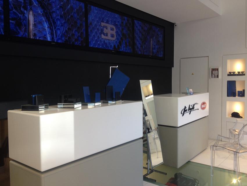 Bugatti Store Montecarlo