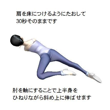 腰痛、背痛、肩こり、ストリッチ画像5