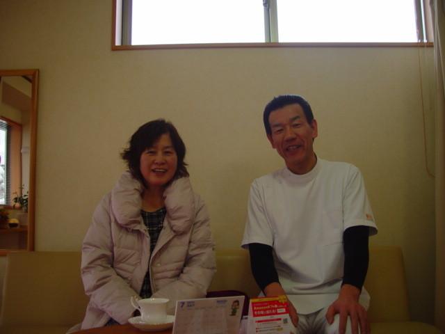 肩こり施術後待合室の写真