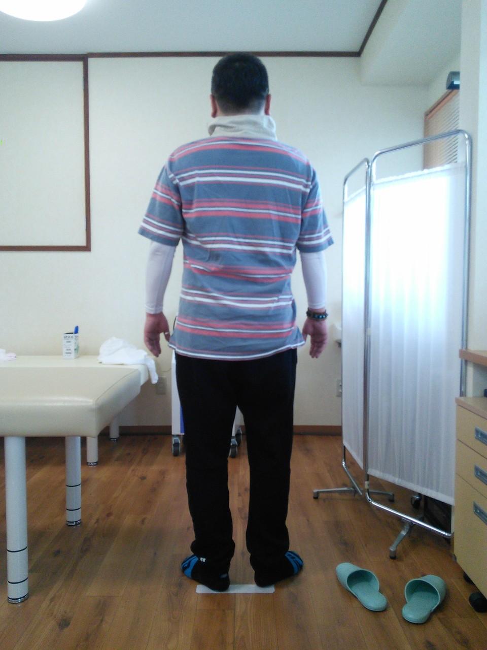 施術後、痛みも治まり姿勢も良くなりました。整体マッサ-ジ
