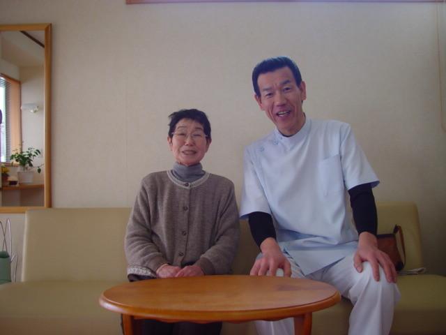 腰の痛み施術後待合室の写真