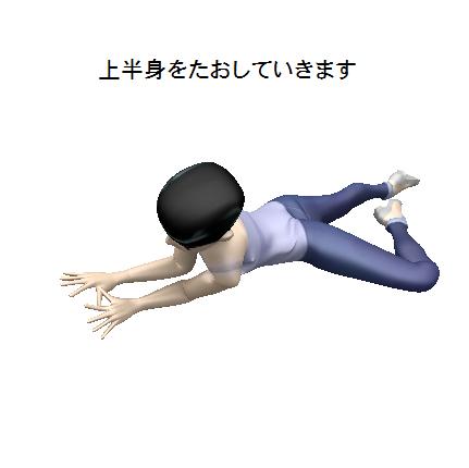腰痛、背痛、肩こり、ストリッチ画像4