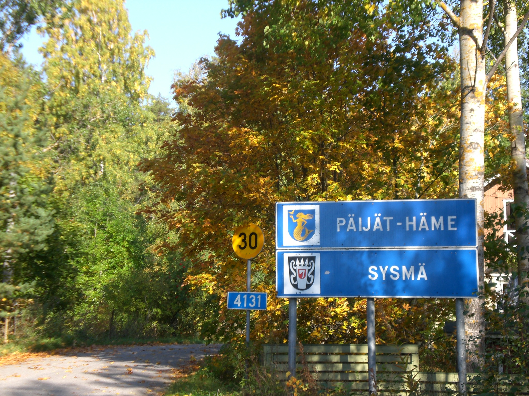 Welcome to the town of Sysmä at Lake Päijänne