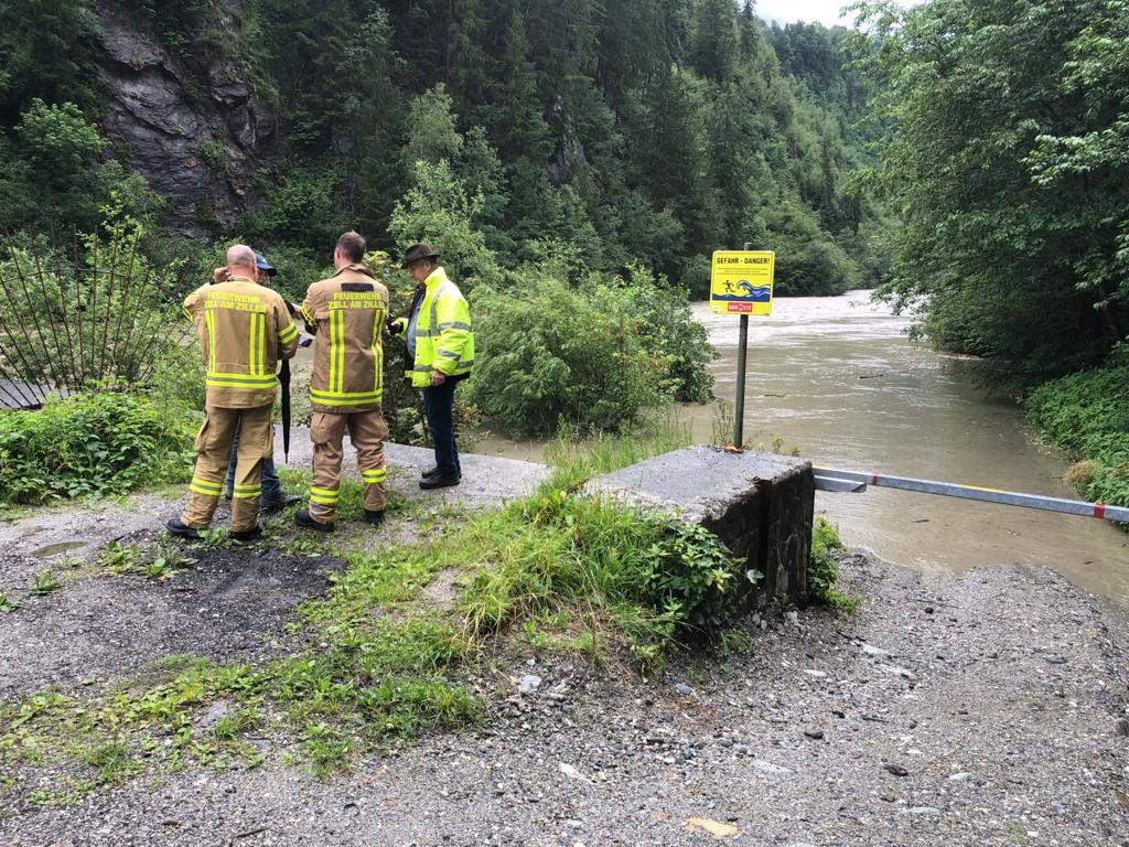 Hochwassersituation