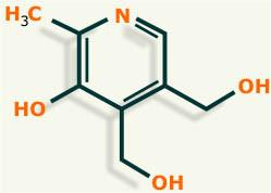 vitamina b6 estructura