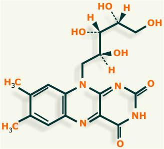 vitamina b2 estructura
