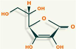 vitamina c estructura quimica