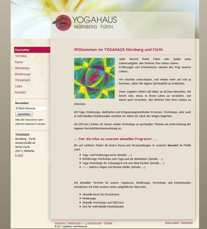Yogahaus Nürnberg Fürth