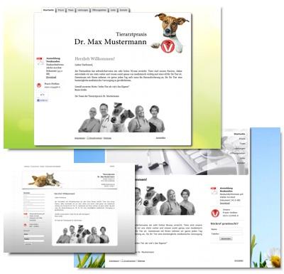 Webseiten für Tierärzte