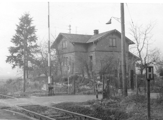 Bahnwärterhaus 1964 (Quelle: Helmut Bach)