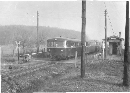 Bahnhof 1964  (Quelle: Helmut Bach)