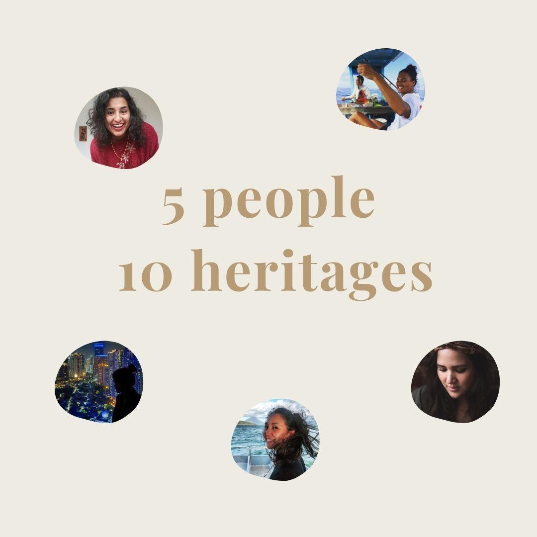 5 people 10 heritages