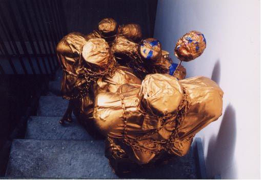 angele della mia storia, installazione, 2003