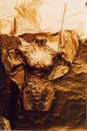 engel meiner geschichte, wandskulptur, 2003