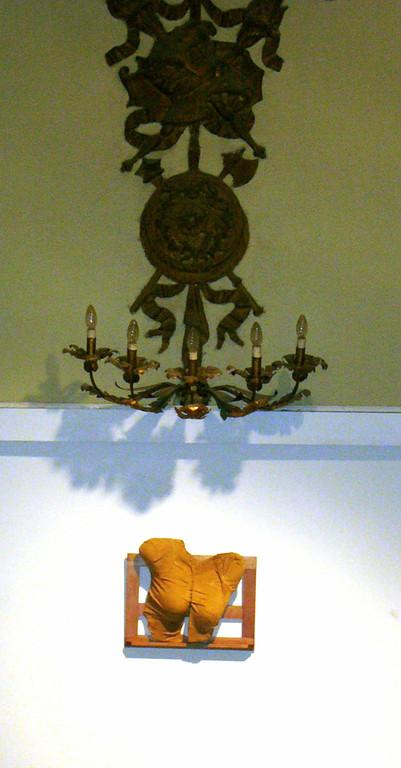 angela poetessa, 2004, 40x36x12