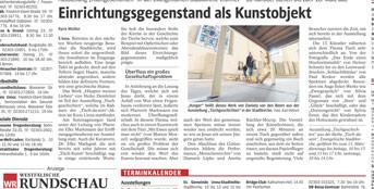 Westfälische Rundschau, 15.2.2011