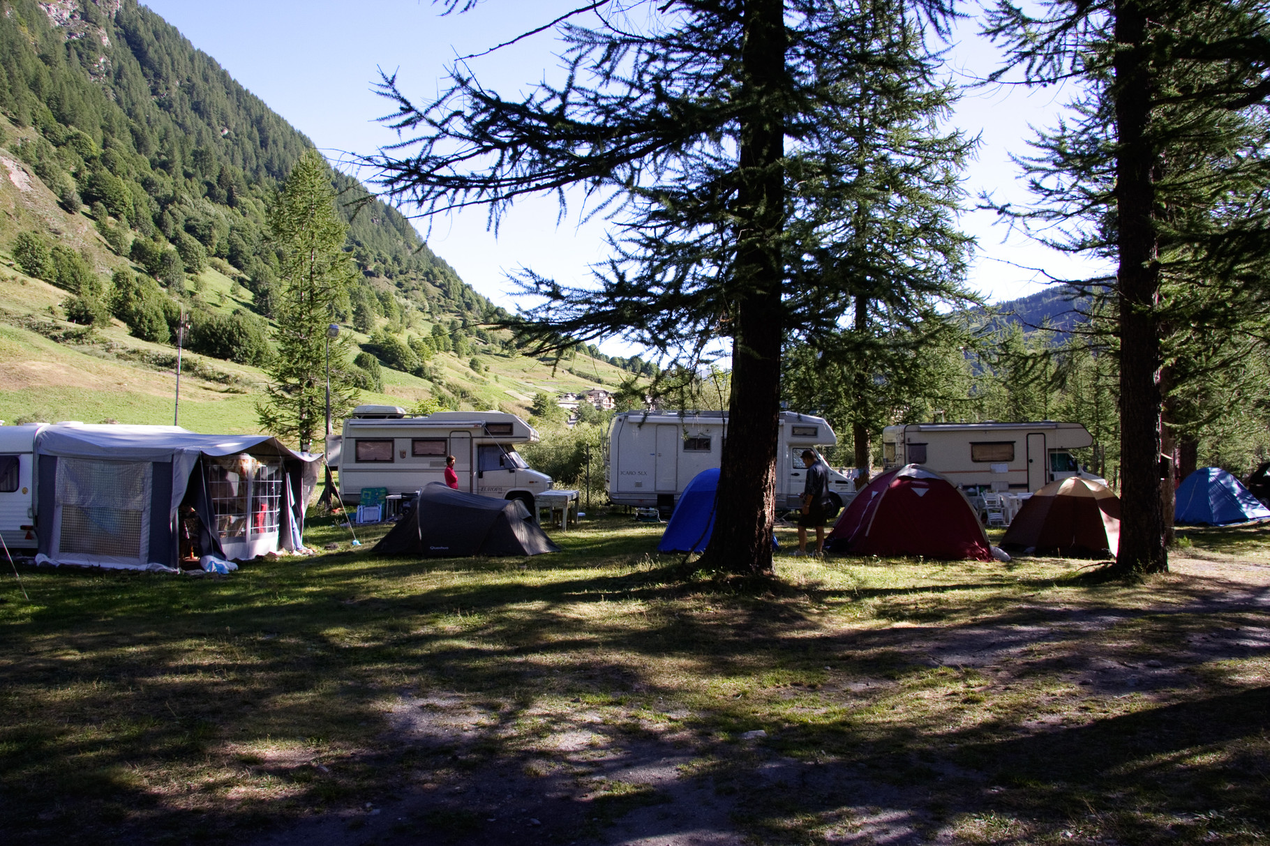 Area tende e camper