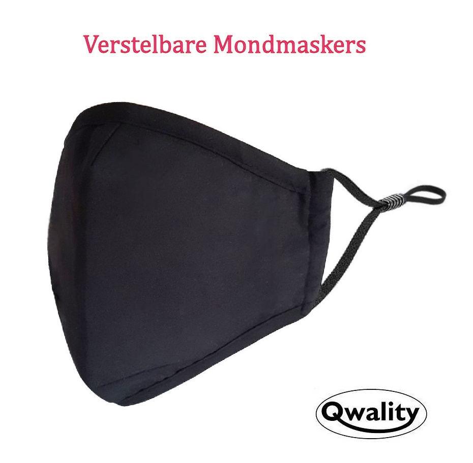 Mondmasker - Mondkapje - Mondkapjes - Fashion - Verstelbaar - Verstelbare - Qwality