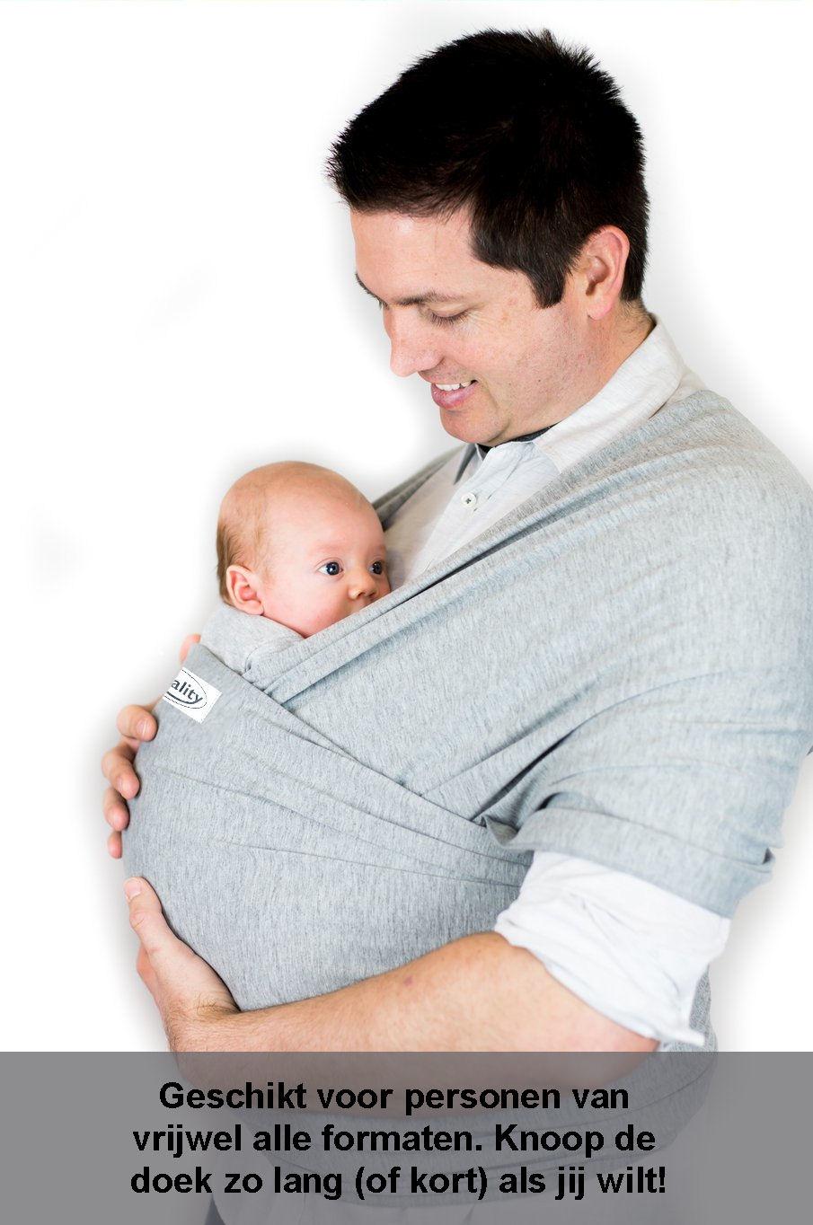Draagdoek baby draagzak babywrap wrap buikdrager qwality4u