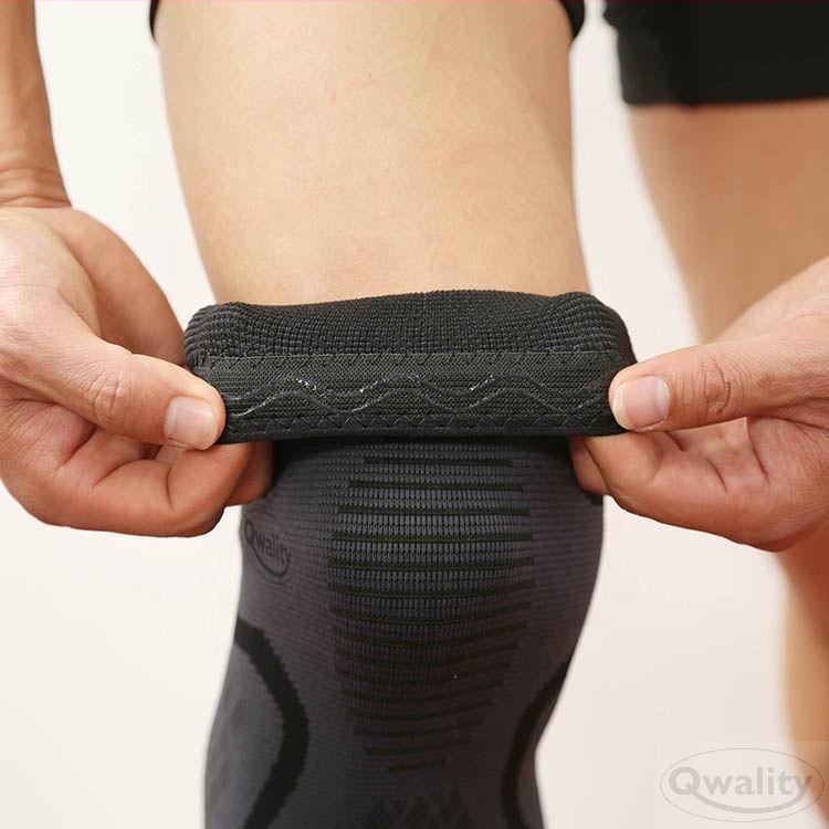 Kniebrace knie brace set kniebandage bandage kniepijn oplossen compressie been qwality qwality4u