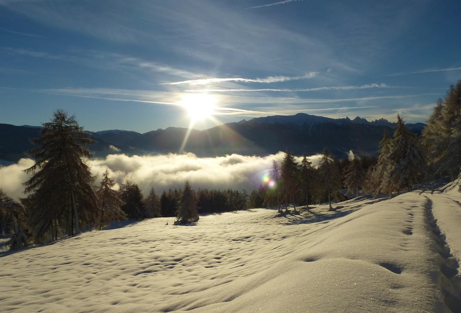 Idyllische Winterlandschaf