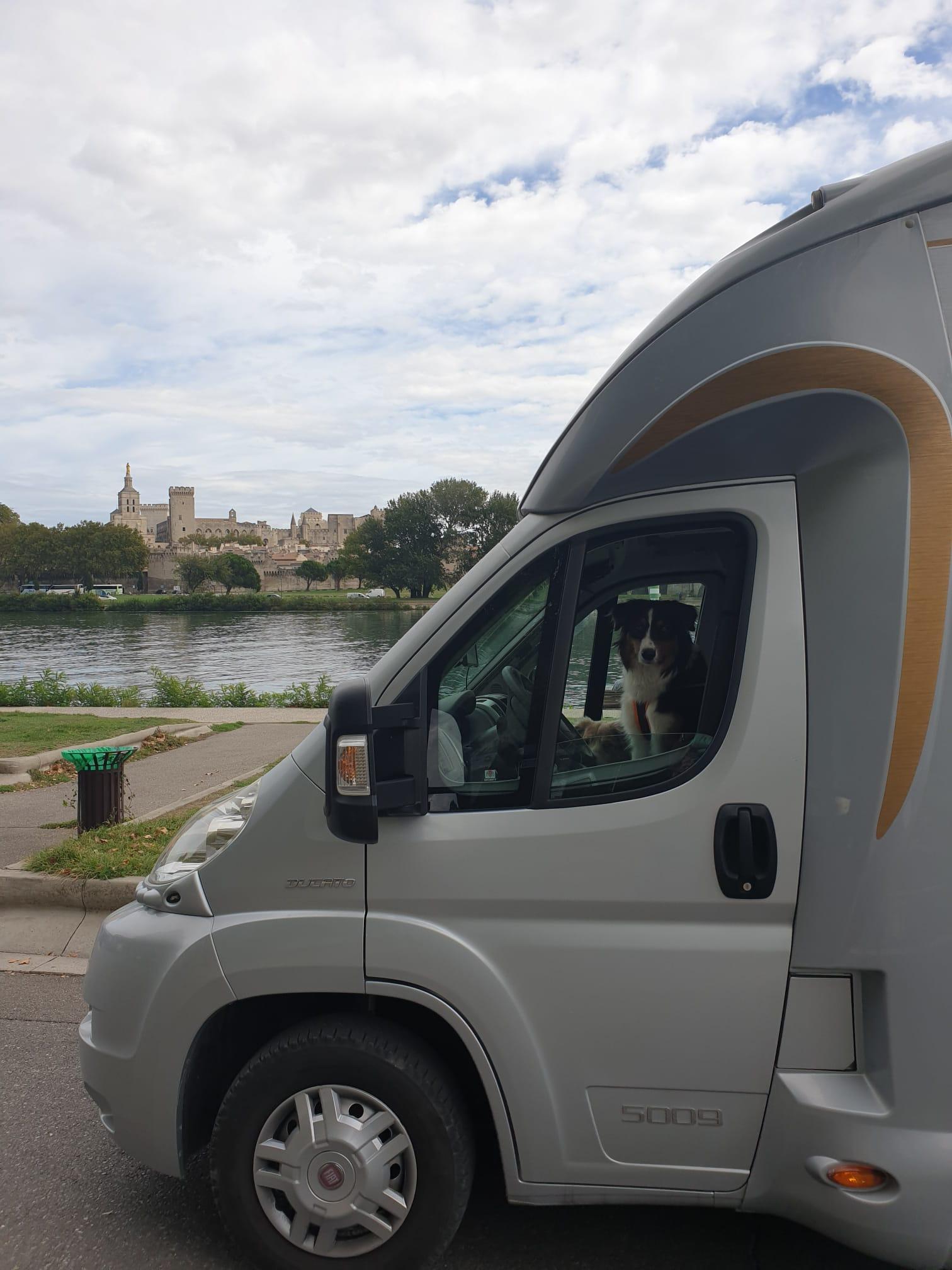 Prêtes pour visiter Avignon
