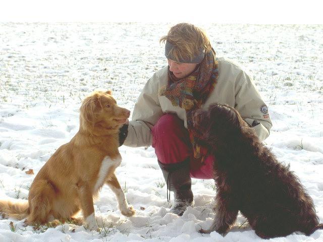 Doris mit Nebona und Caline