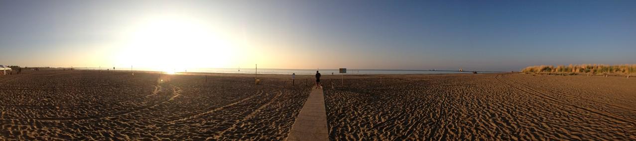 Abendlicher Ausgang ans Meer...