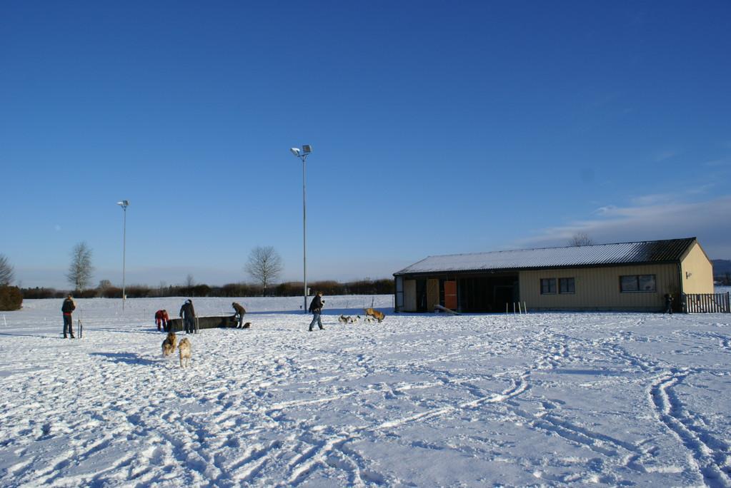 Trainingsplatz...