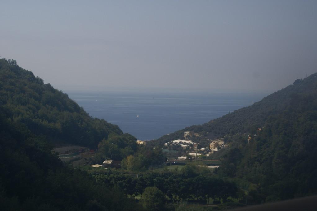 Genua - erster Blick aufs Meer!
